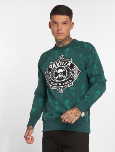 Verkauf Günstiger Preis Yakuza Herren Pullover Sick N Fuck in grün Kostengünstige Online-Verkauf Exklusiv Verkauf Hochwertige Auslass Professionelle acDEK