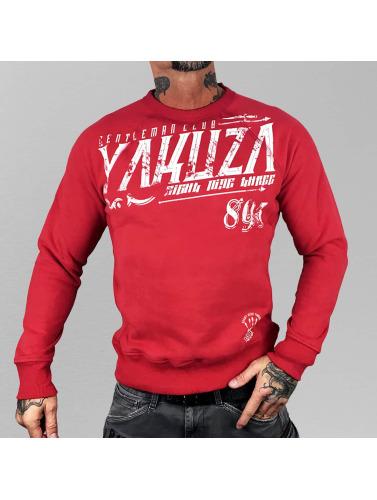 Yakuza Herren Pullover Gentleman Club in rot