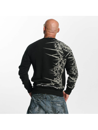 Yakuza Herren Pullover Thorns in schwarz