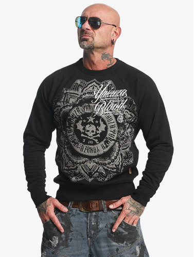 Yakuza Herren Pullover Inked In Blood in schwarz