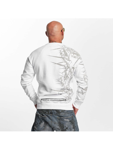 Yakuza Herren Pullover Thorns in weiß