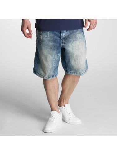 Yakuza Herren Shorts Caught In A Circle in blau