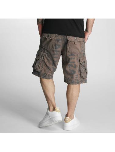Yakuza Herren Shorts Allover in grau
