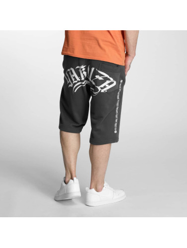 Yakuza Herren Shorts Armed Society in grau