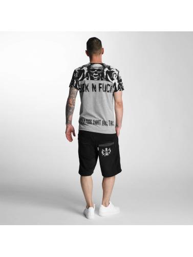 Yakuza Herren Shorts Kanto in schwarz