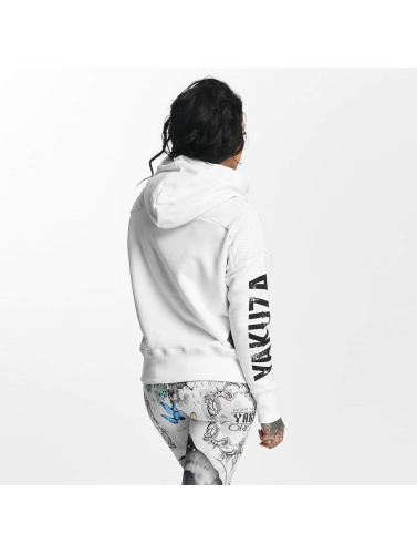 Yakuza Mujeres Sudadera Mesh in blanco