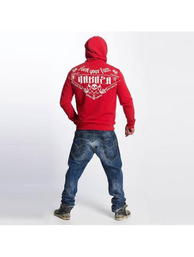 Yakuza Hombres Sudadera F.W.F. in rojo