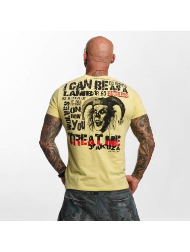 Yakuza Herren T-Shirt Treat Me in beige