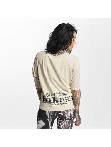 Yakuza Damen T-Shirt Circus Inferno in beige