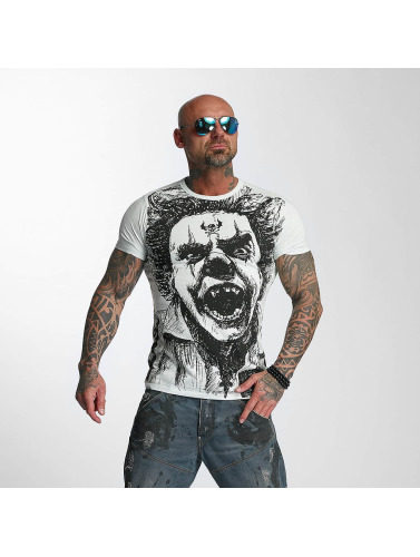 Yakuza Herren T-Shirt King in blau