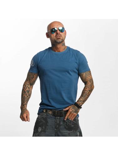Yakuza Herren T-Shirt Shadowplay in blau