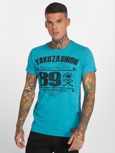 Yakuza Herren T-Shirt 893 Union in blau