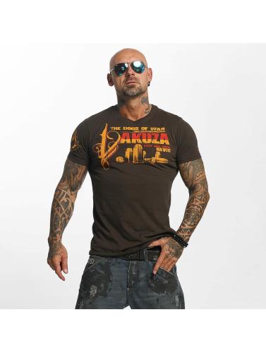 Yakuza Herren T-Shirt Havoc in braun