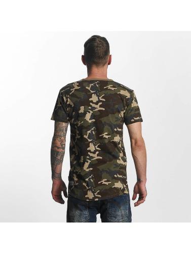 Yakuza Herren T-Shirt Basic in camouflage