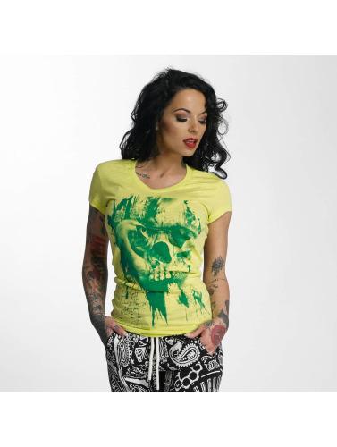 Yakuza Damen T-Shirt Dead Swan in gelb