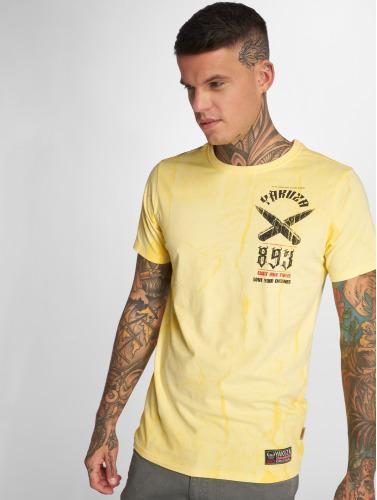 Yakuza Herren T-Shirt Blaze N Glory in gelb