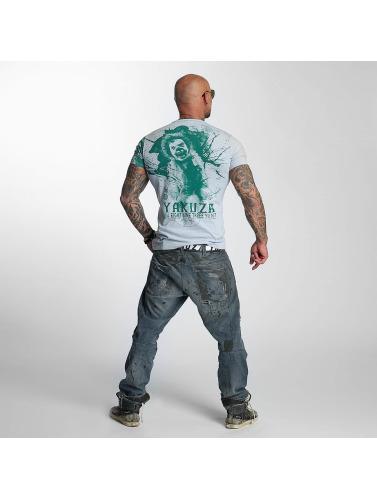 Yakuza Herren T-Shirt Yent in grau