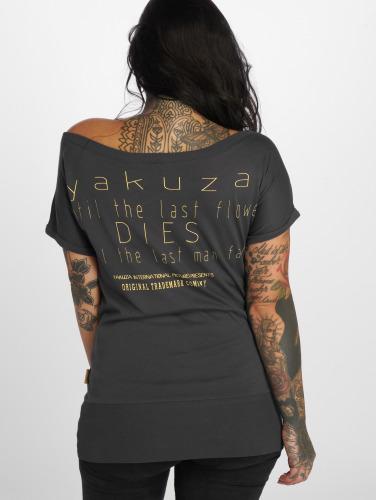 Yakuza Damen T-Shirt Respirator in grau