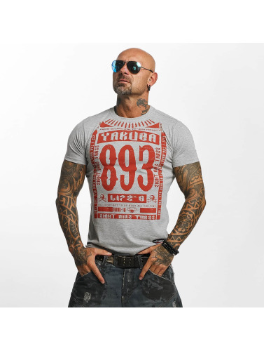 Yakuza Herren T-Shirt Life Time in grau