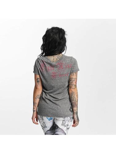 Yakuza Damen T-Shirt Stupid Paradise Boyfriend in grau