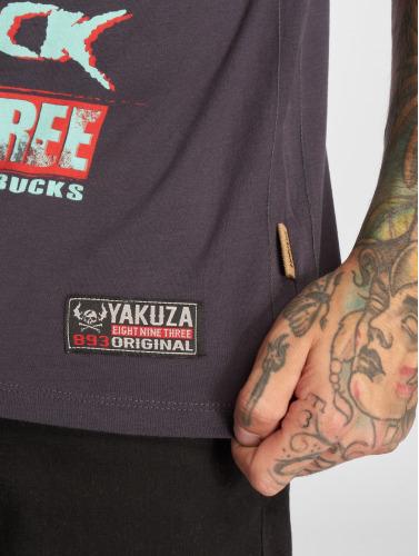 Yakuza Herren T-Shirt Fanstasias in grau