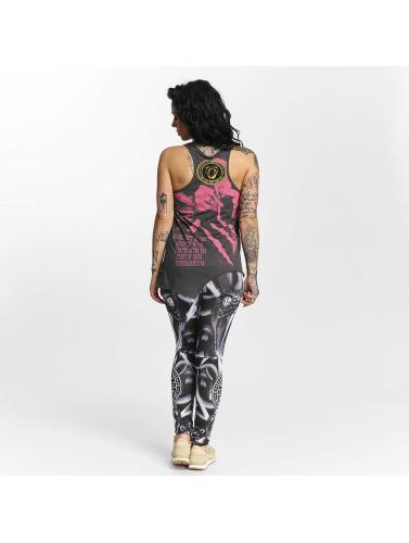 Yakuza Damen T-Shirt Snorting Urban in grau