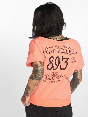 Yakuza Damen T-Shirt Kill Me 2 in orange Günstigsten Preis Günstig Online IUoTUWH9