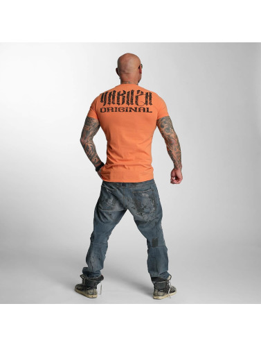 Yakuza Herren T-Shirt Blow It Out in orange