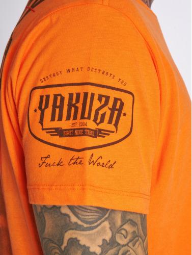 Yakuza Herren T-Shirt Shadowplay in orange