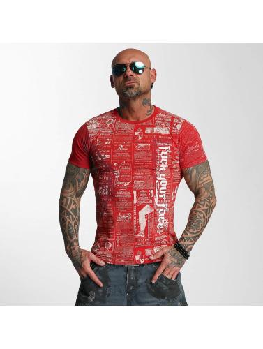 Yakuza Herren T-Shirt F.Y.F. in rot