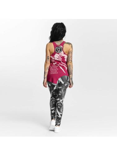 Yakuza Damen T-Shirt Snorting Urban in rot