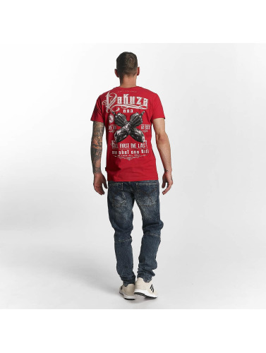 Yakuza Herren T-Shirt One Shot in rot