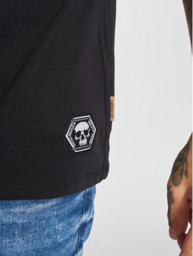 Yakuza Herren T-Shirt Jesus in schwarz