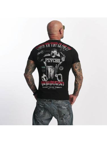 Yakuza Herren T-Shirt Psycho Circust in schwarz