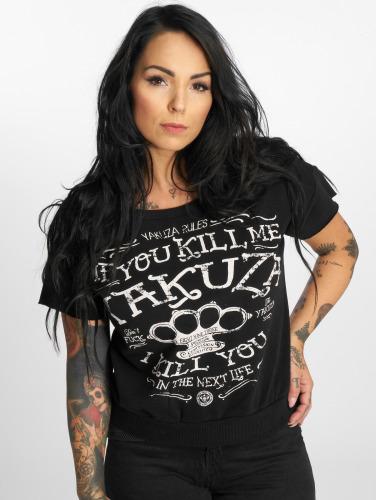 Yakuza Damen T-Shirt Kill Me 2 in schwarz