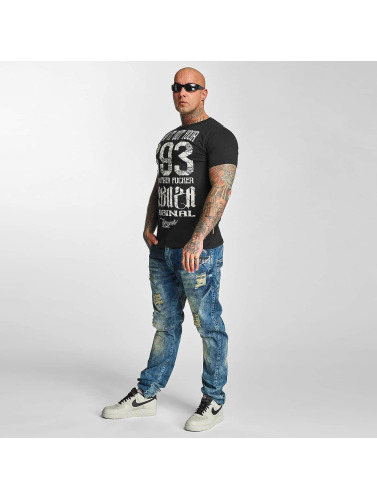 Yakuza Herren T-Shirt Blow It Out in schwarz