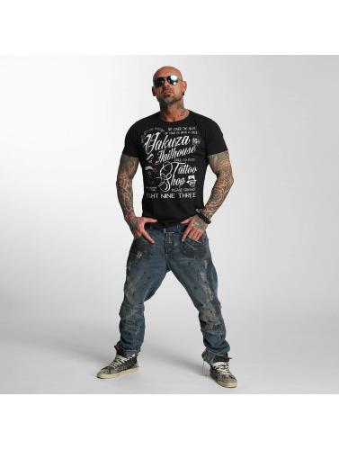 Yakuza Herren T-Shirt Jailhouse in schwarz