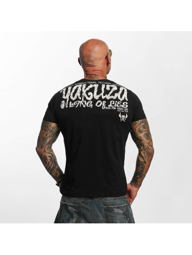 Yakuza Herren T-Shirt King Of Lies in schwarz