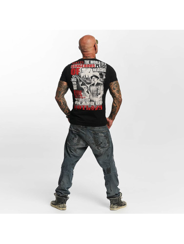 Yakuza Herren T-Shirt Dangerous Place in schwarz