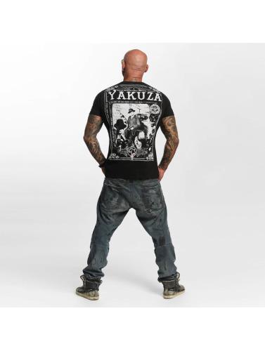 Yakuza Herren T-Shirt Farther in schwarz