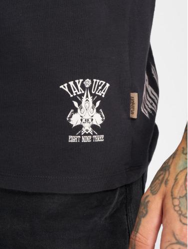 Yakuza Herren T-Shirt SICK n FxCK in schwarz