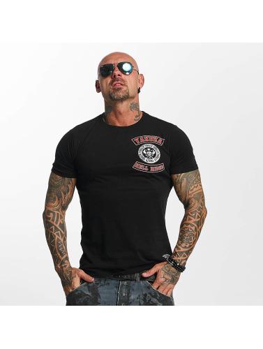 Yakuza Herren T-Shirt Hell Rider in schwarz