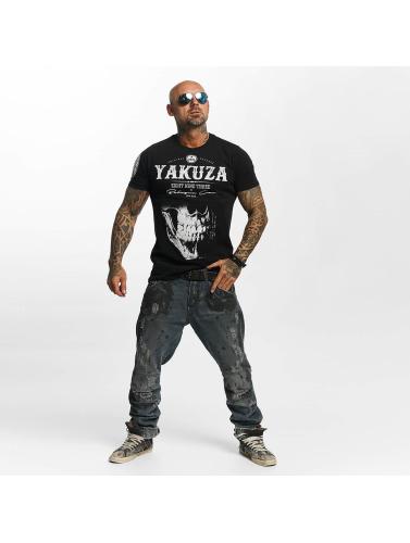 Yakuza Herren T-Shirt Daily Skull in schwarz