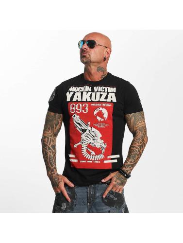 Yakuza Herren T-Shirt Chockin Victim in schwarz