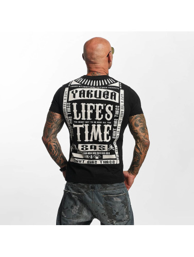 Yakuza Herren T-Shirt Life Time in schwarz