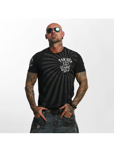Yakuza Herren T-Shirt Expect No in schwarz