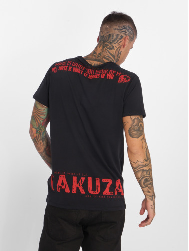 Yakuza Herren T-Shirt Love Hate in schwarz