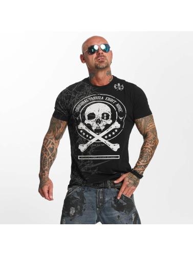 Yakuza Herren T-Shirt Face in schwarz