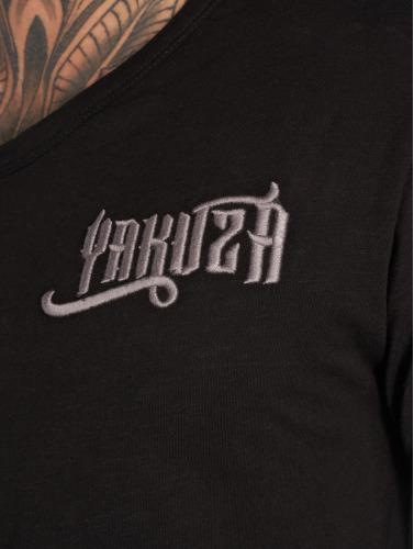 Yakuza Herren T-Shirt Basic in schwarz Freies Verschiffen Mode-Stil Günstig Kaufen In Deutschland IlEb5CTlf