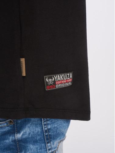 Yakuza Herren T-Shirt Basic in schwarz